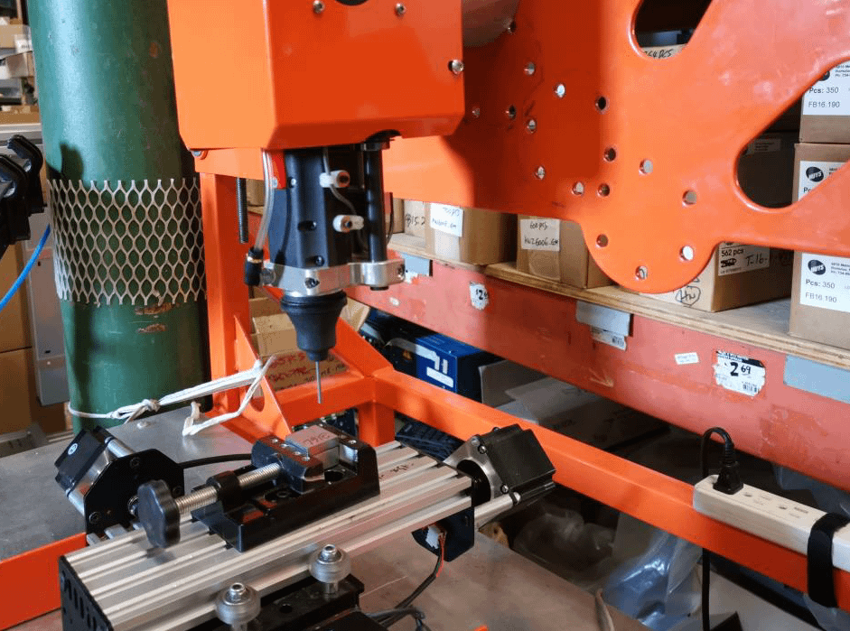 Compact Automated Electrospark Deposition
