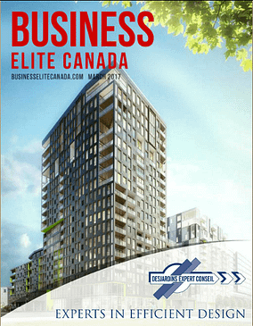 Huys Article Published in Business Elite Canada
