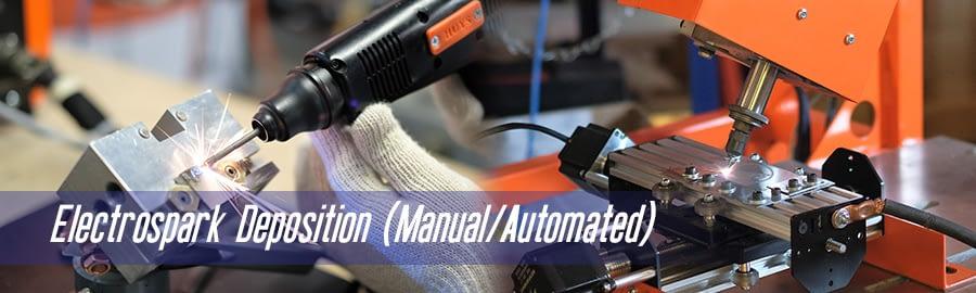 Electrospark Deposition (Manual/Automated)