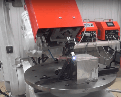 Automated Low Energy Welding System Installed