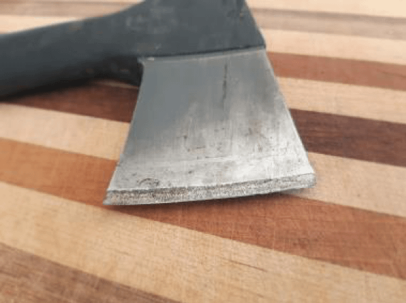 Surface Treatment of Axe